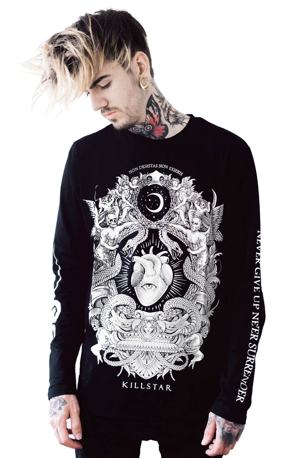Never Surrender Long Sleeve Top