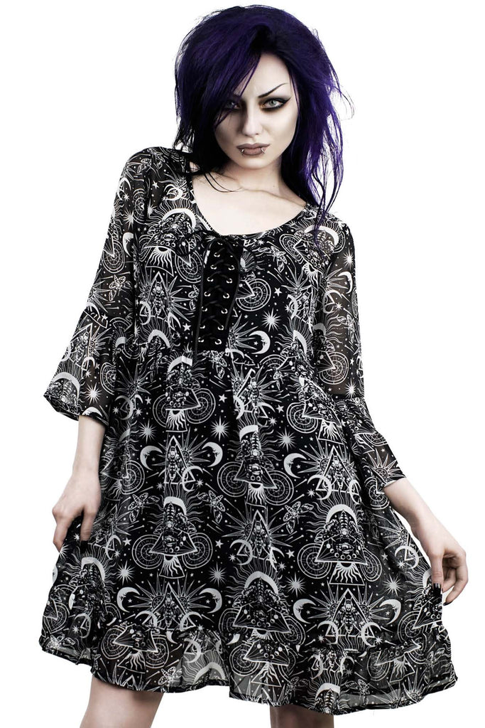 New Moon Babydoll Dress [B]