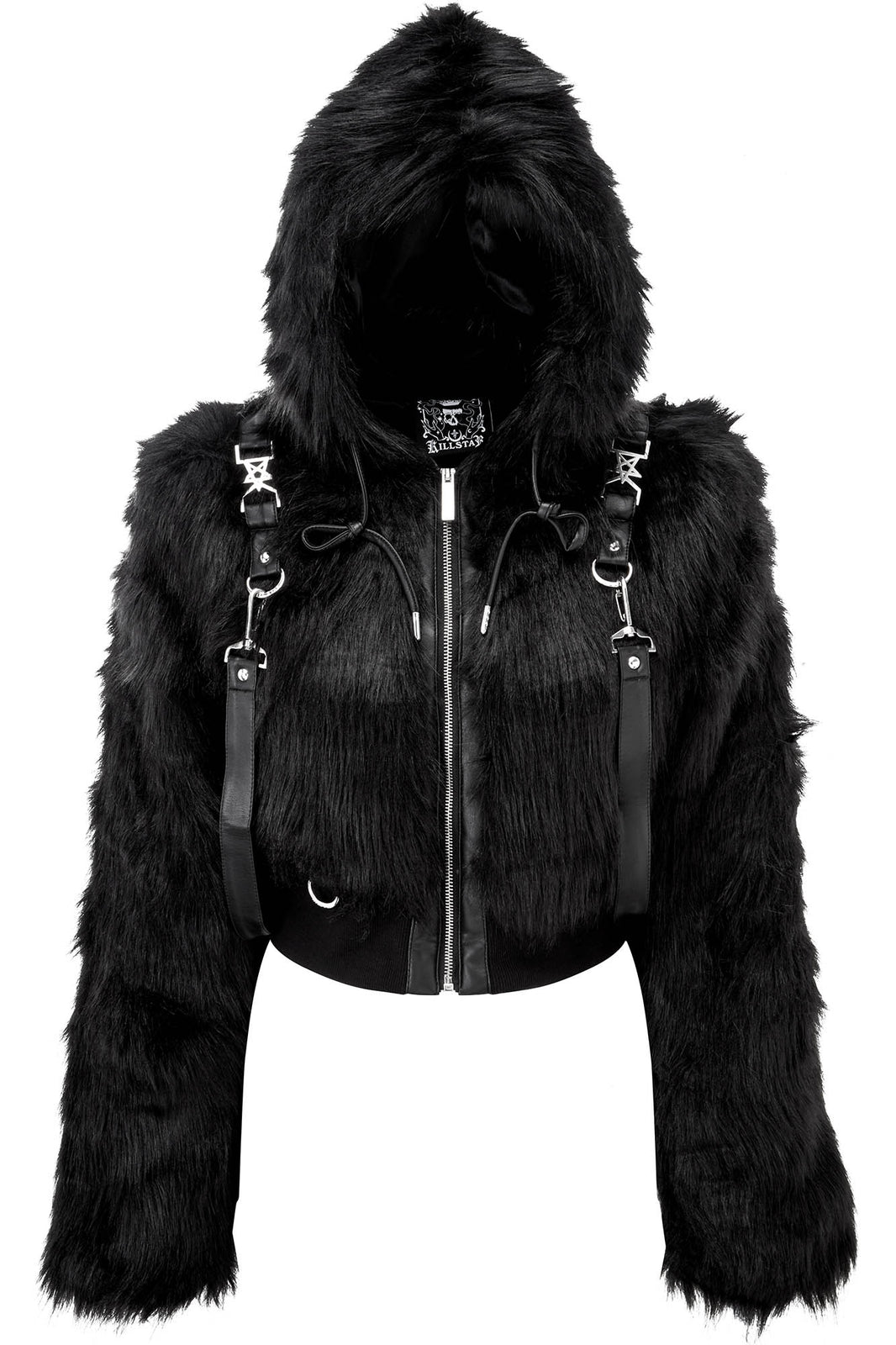 Night Creature Faux-Fur Jacket