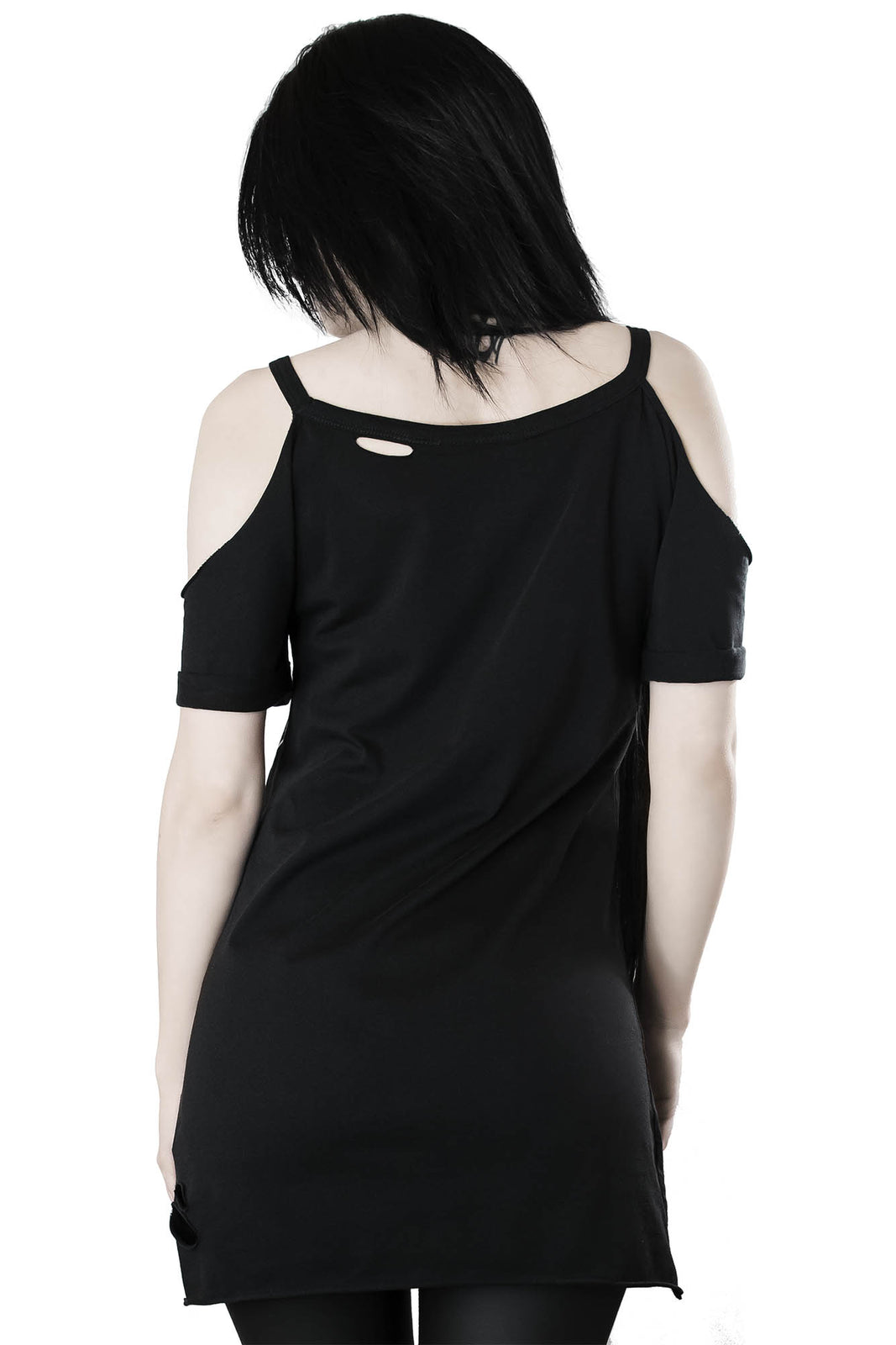 Night Rider Distress Top