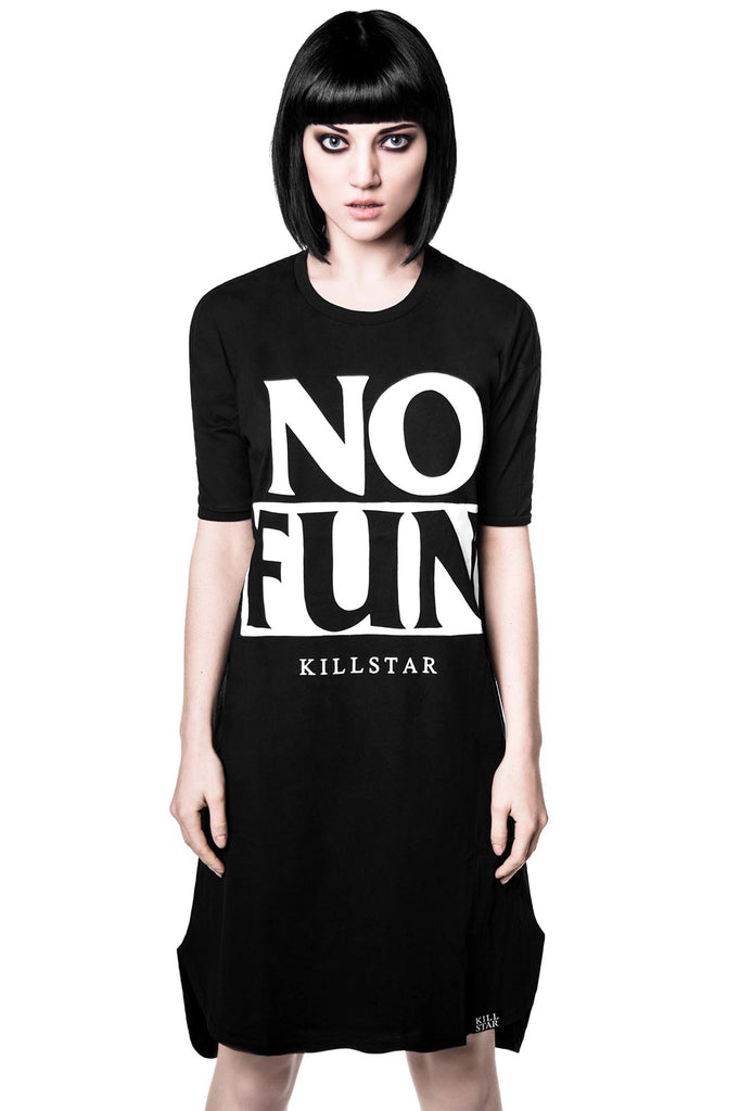 No Fun T-Dress [B]