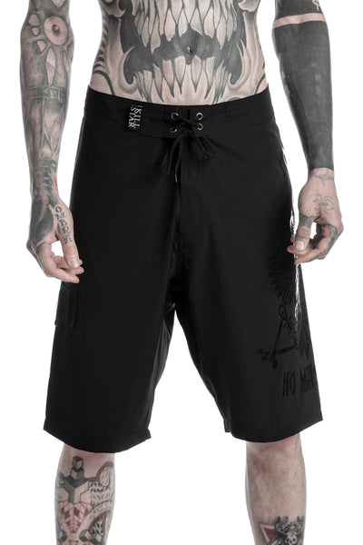 No Gods Board Shorts [B]