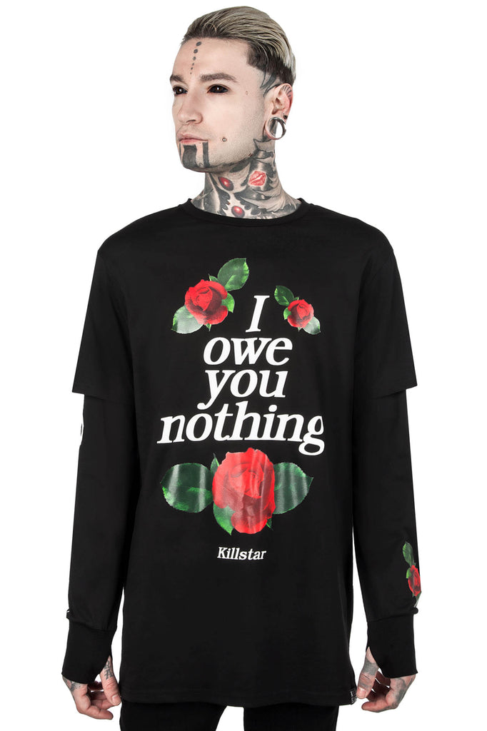 Nothing Long-Sleeve Top [B]