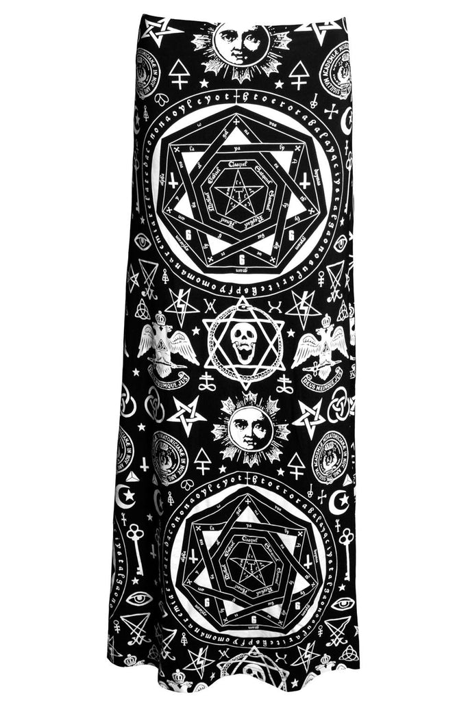 Occult Maxi Skirt [B]