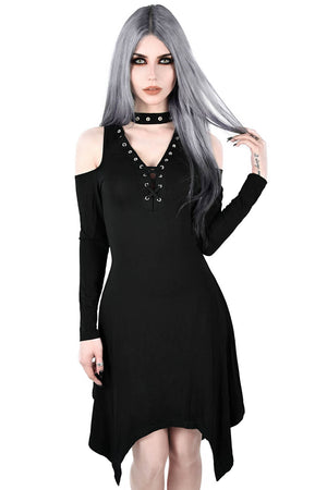 Onyx Fall-Deep Dress [B]