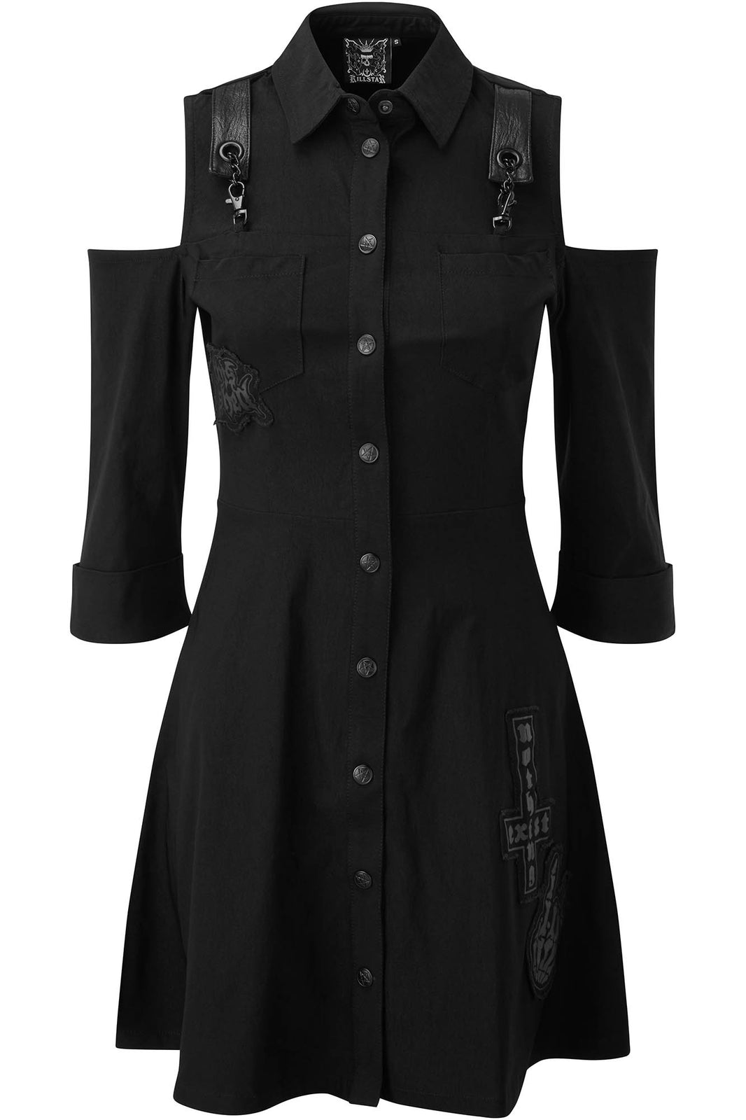 Paranormal Shirt-Dress [B]