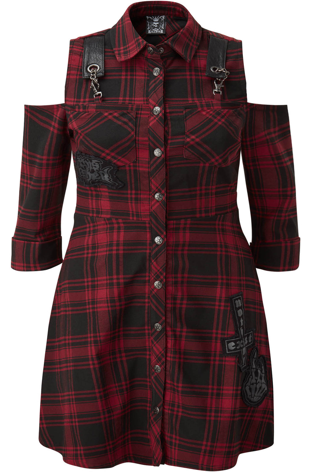 Paranormal Shirt-Dress [TARTAN] [PLUS]