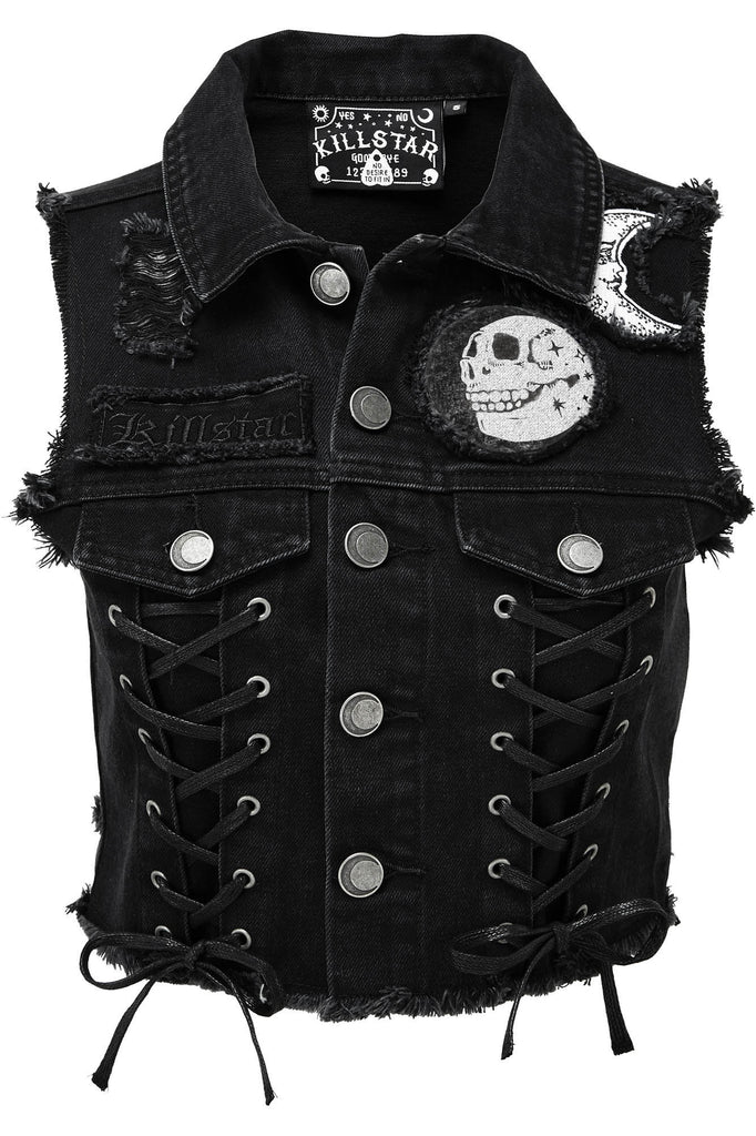 Phased Out Denim Vest [B]
