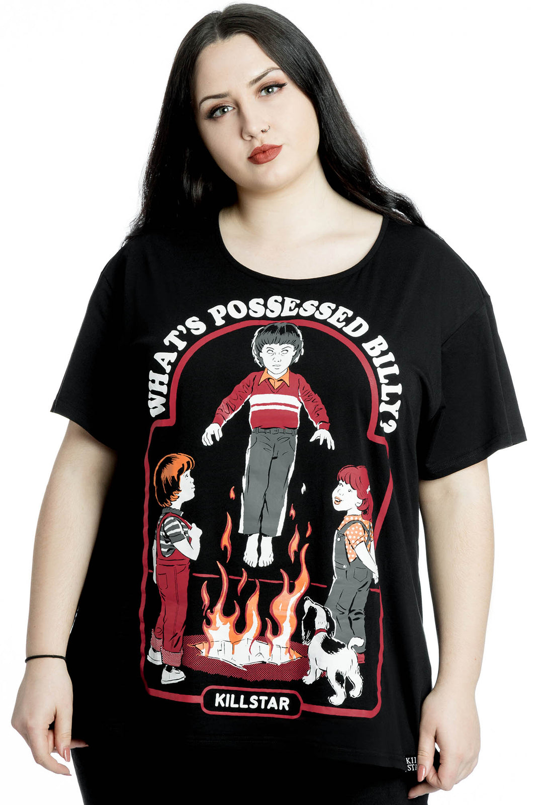 Possessed Relaxed Top [PLUS]