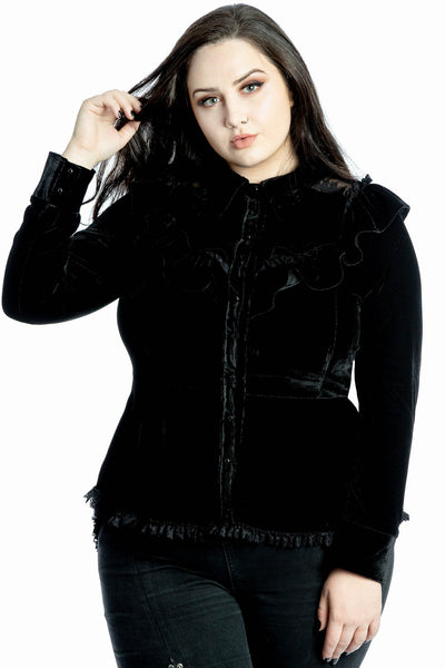 Procession Velvet Shirt [PLUS]