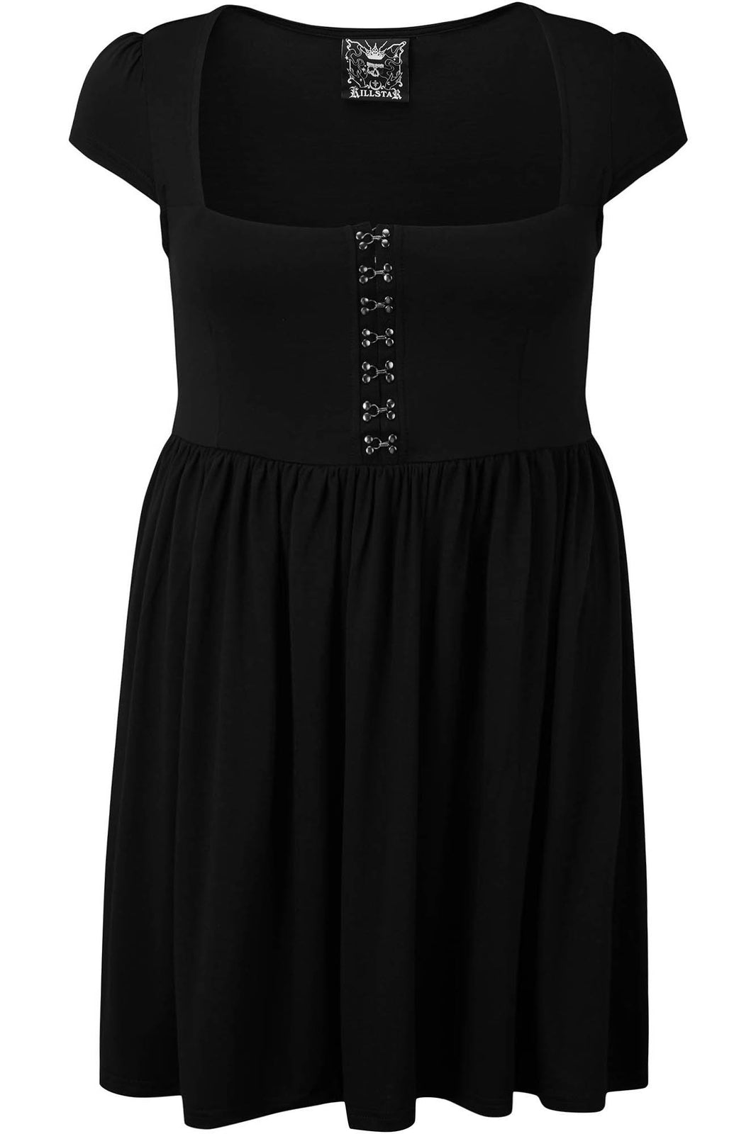 Punk-Tured Babydoll Dress [PLUS]