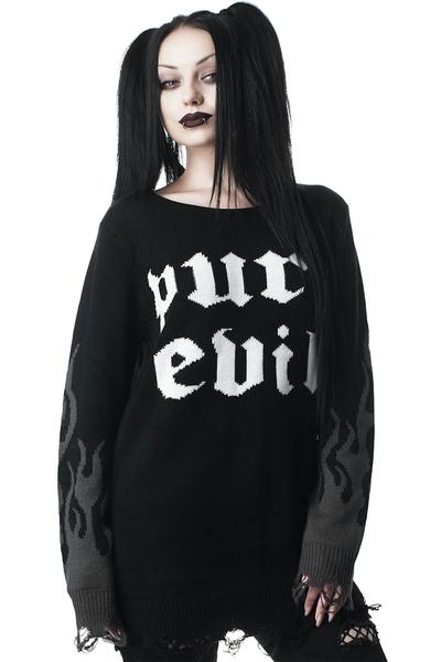 Purr Evil Knit Sweater