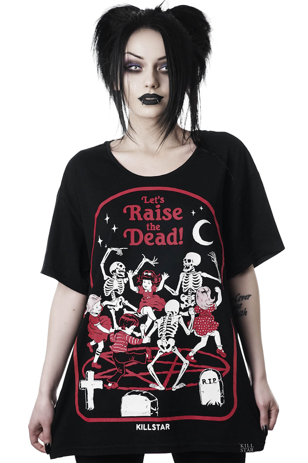 Raise The Dead Relaxed Top