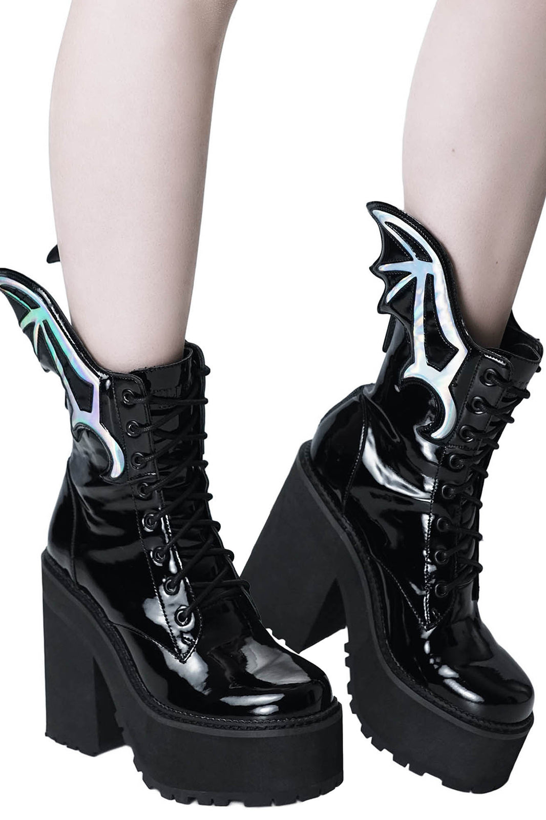 Rave To The Grave Boots