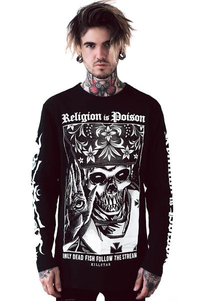 Religion Long Sleeve Top