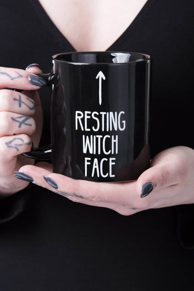 Resting Witch Face Mug [B]