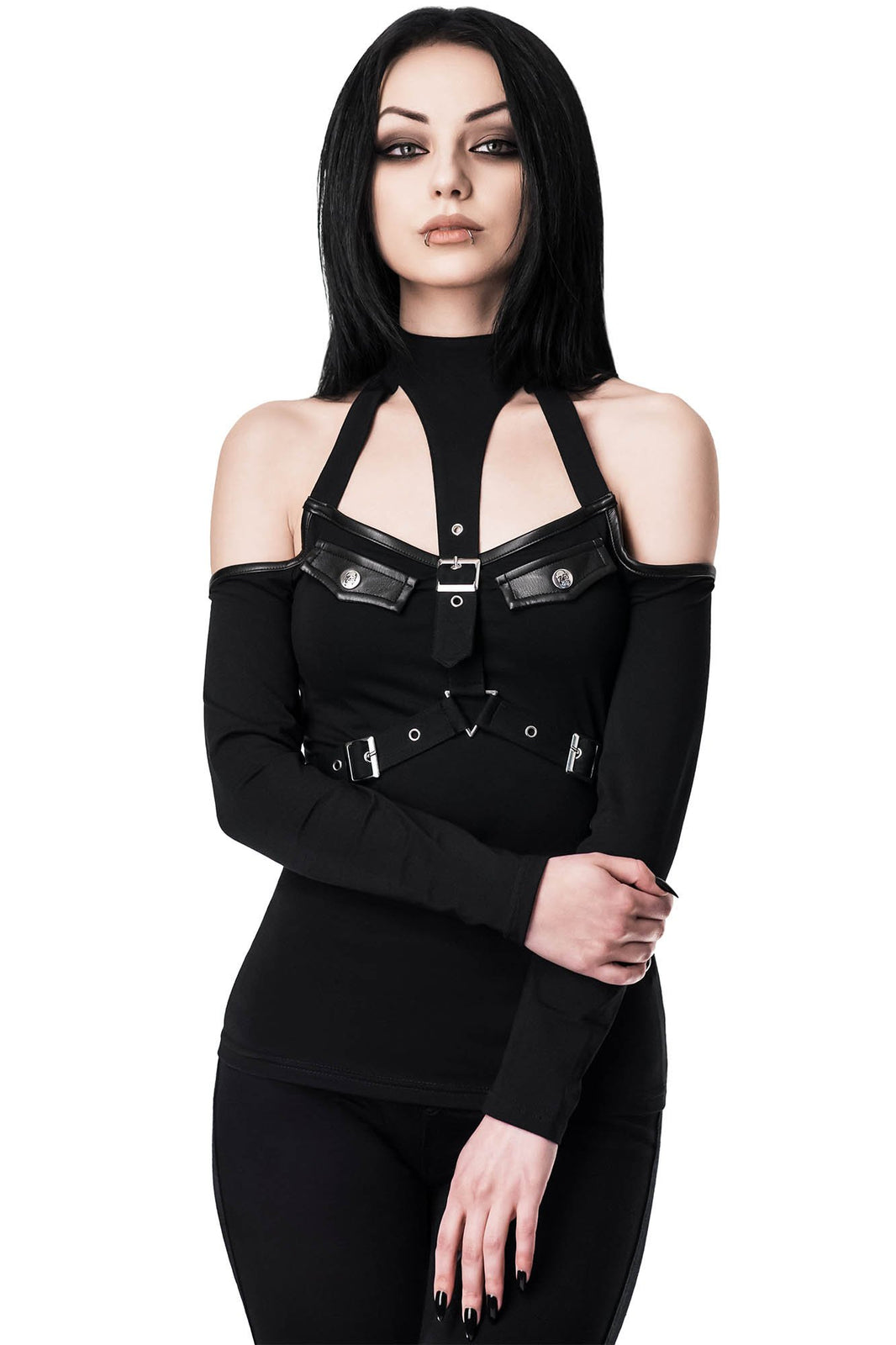 Siege Halter Top