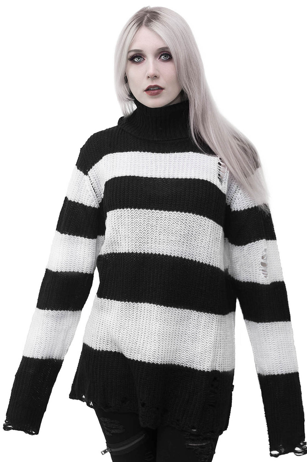 Seven Knit Sweater [WHITE]