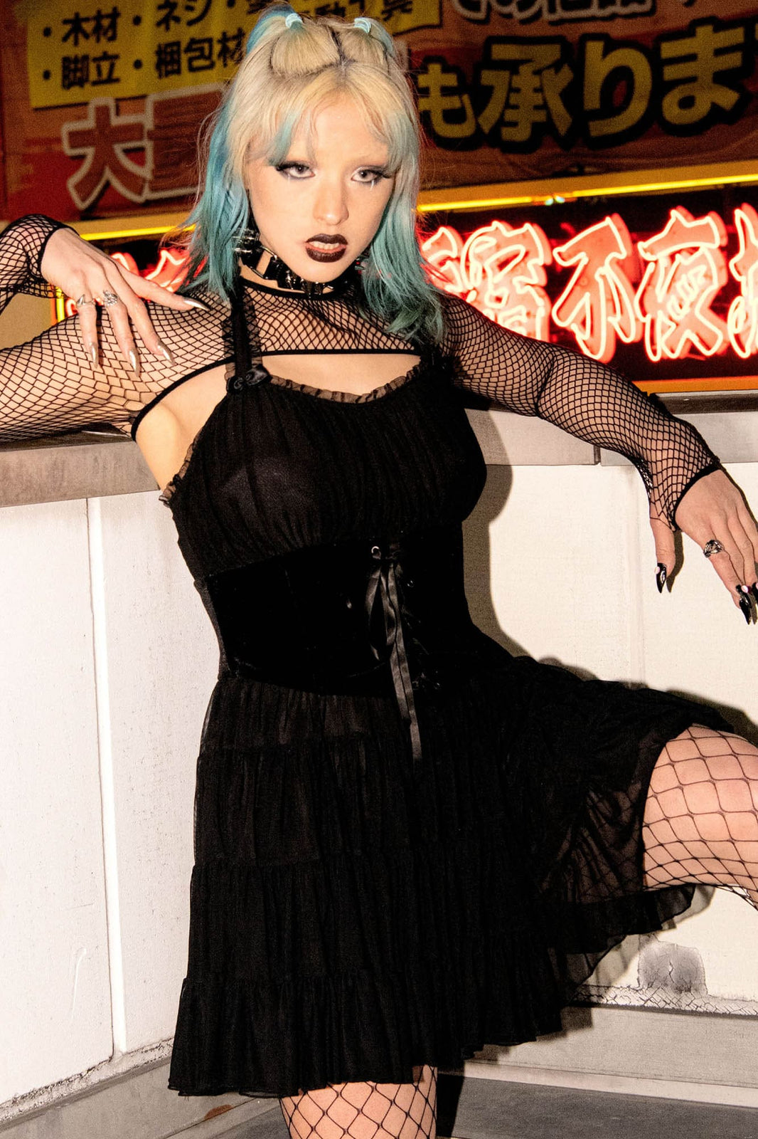 Skye Scraper Burlesque Dress