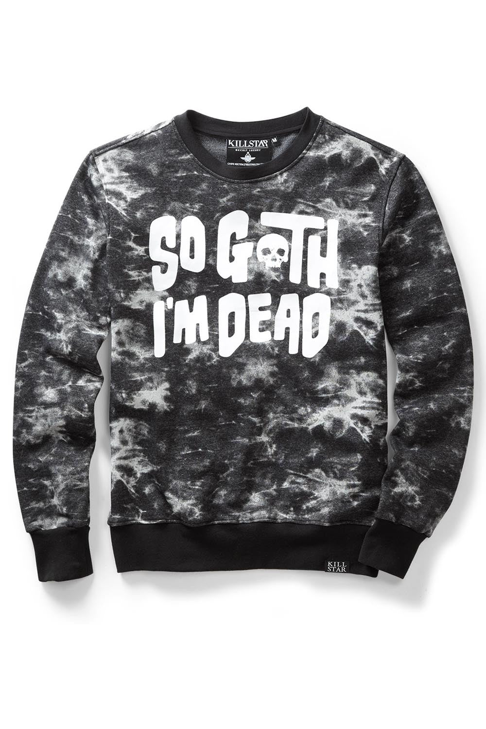 So Goth Sweatshirt [TIEDYE]