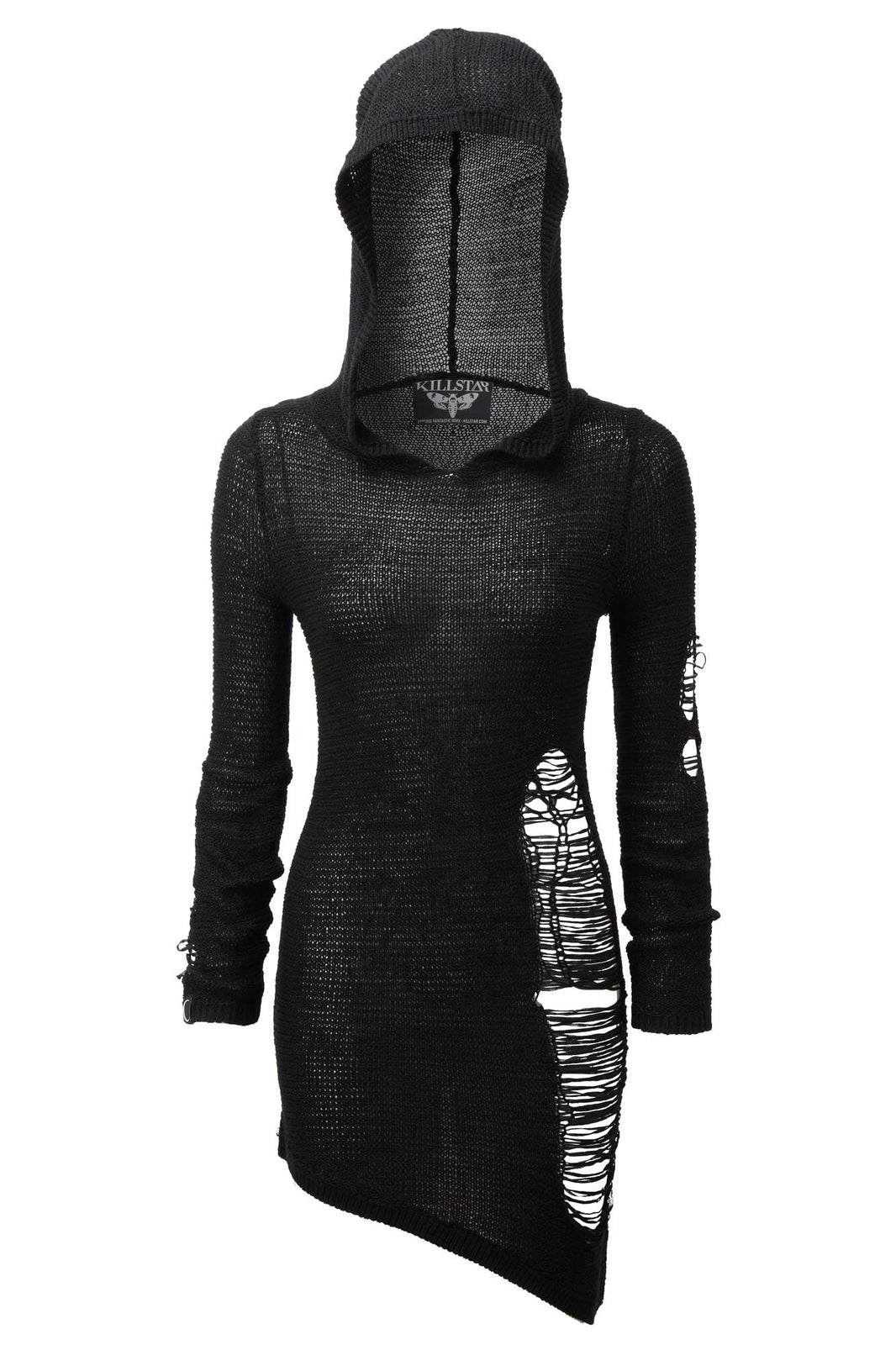 Soulstorm Distress Hood Dress [B]