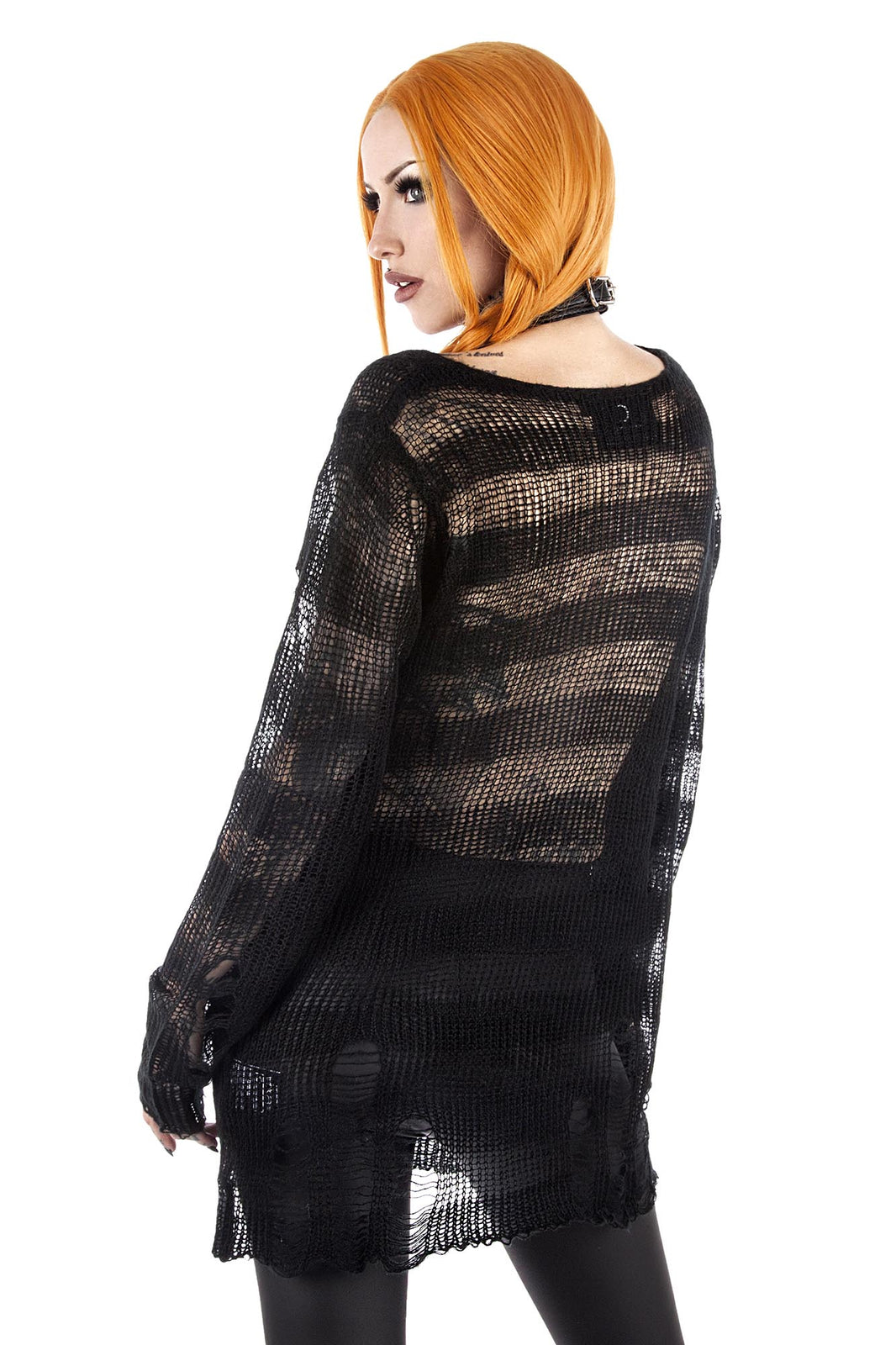 Spook N Destroy Knit Sweater [B]