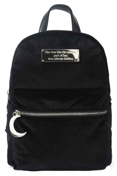 Starlight Velvet Backpack [B]