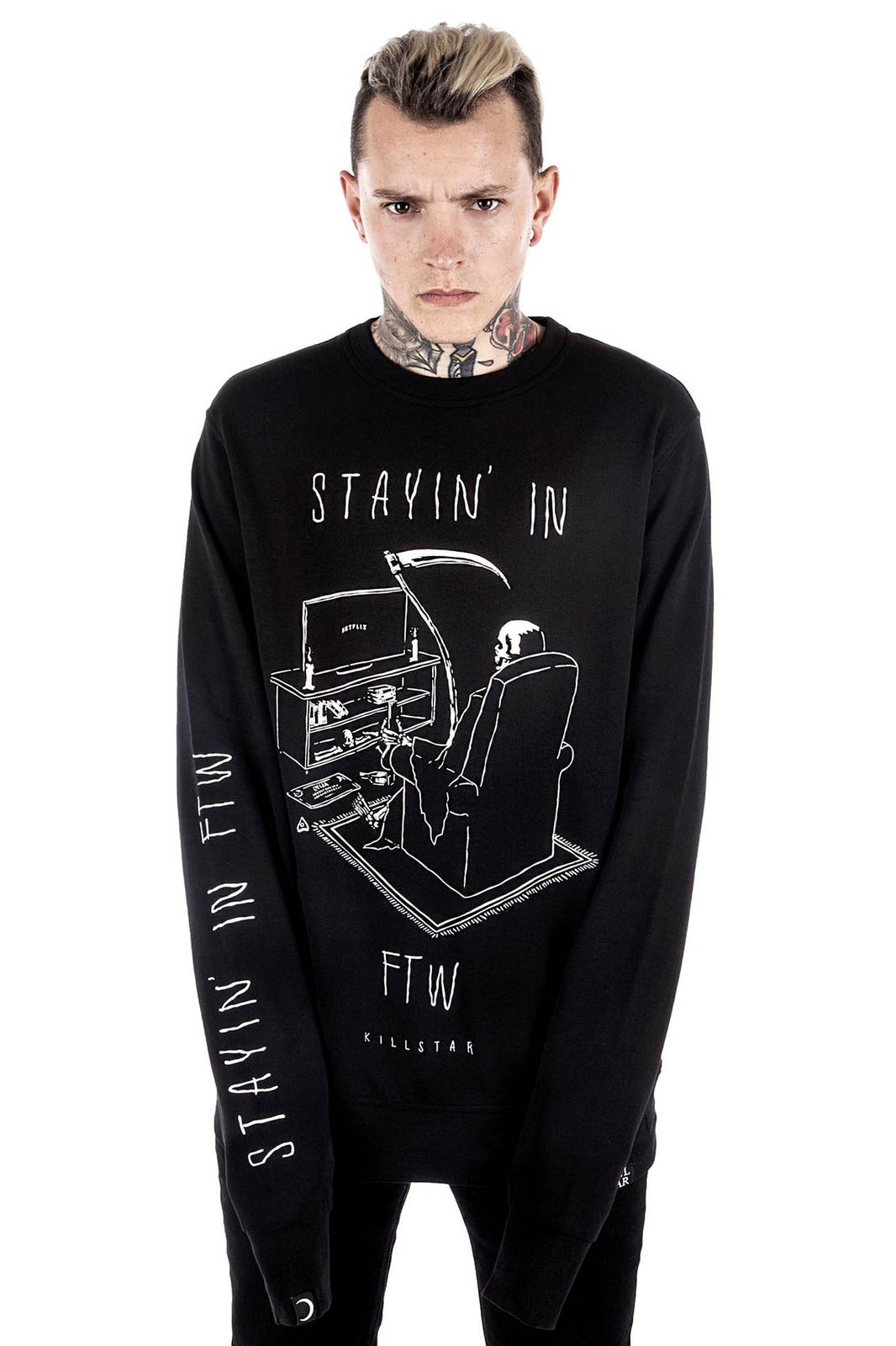 Stayin' In Sweatshirt [B]