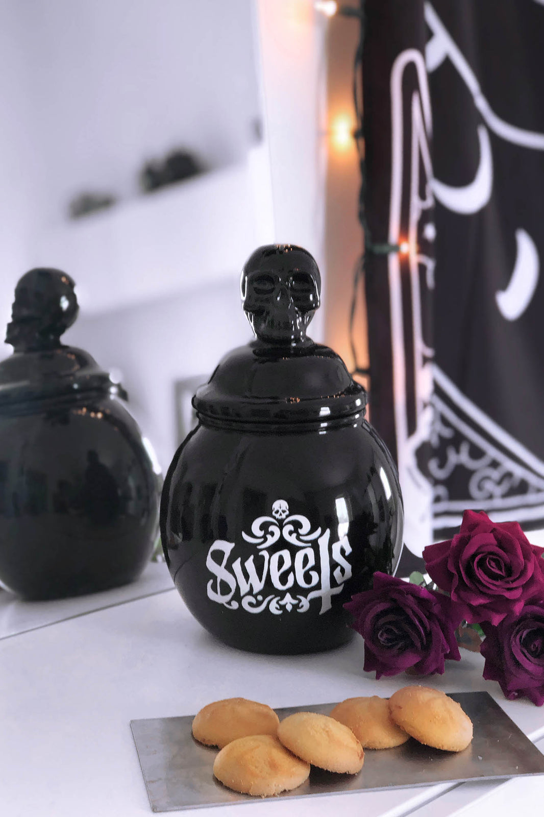 Sweets Ceramic Jar