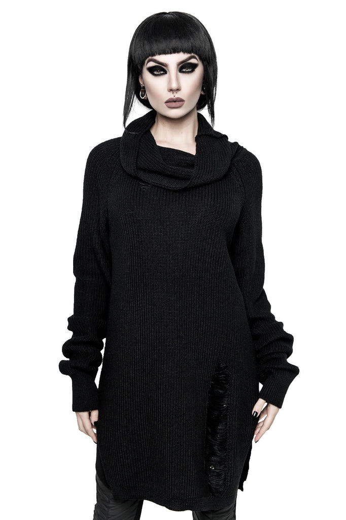 Sweet Six Knit Sweater [BLACK]