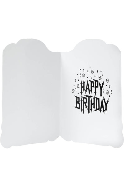 Tombstone Birthday Card [B]