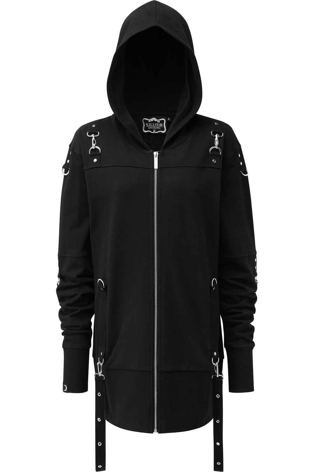 Twisted Zip-Up Hoodie [B]