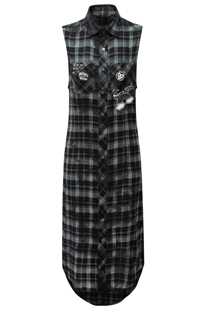 Unplugged Woven Maxi Dress [B]