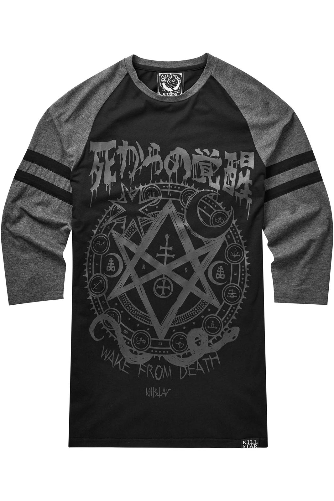 Wake From Death Raglan Top