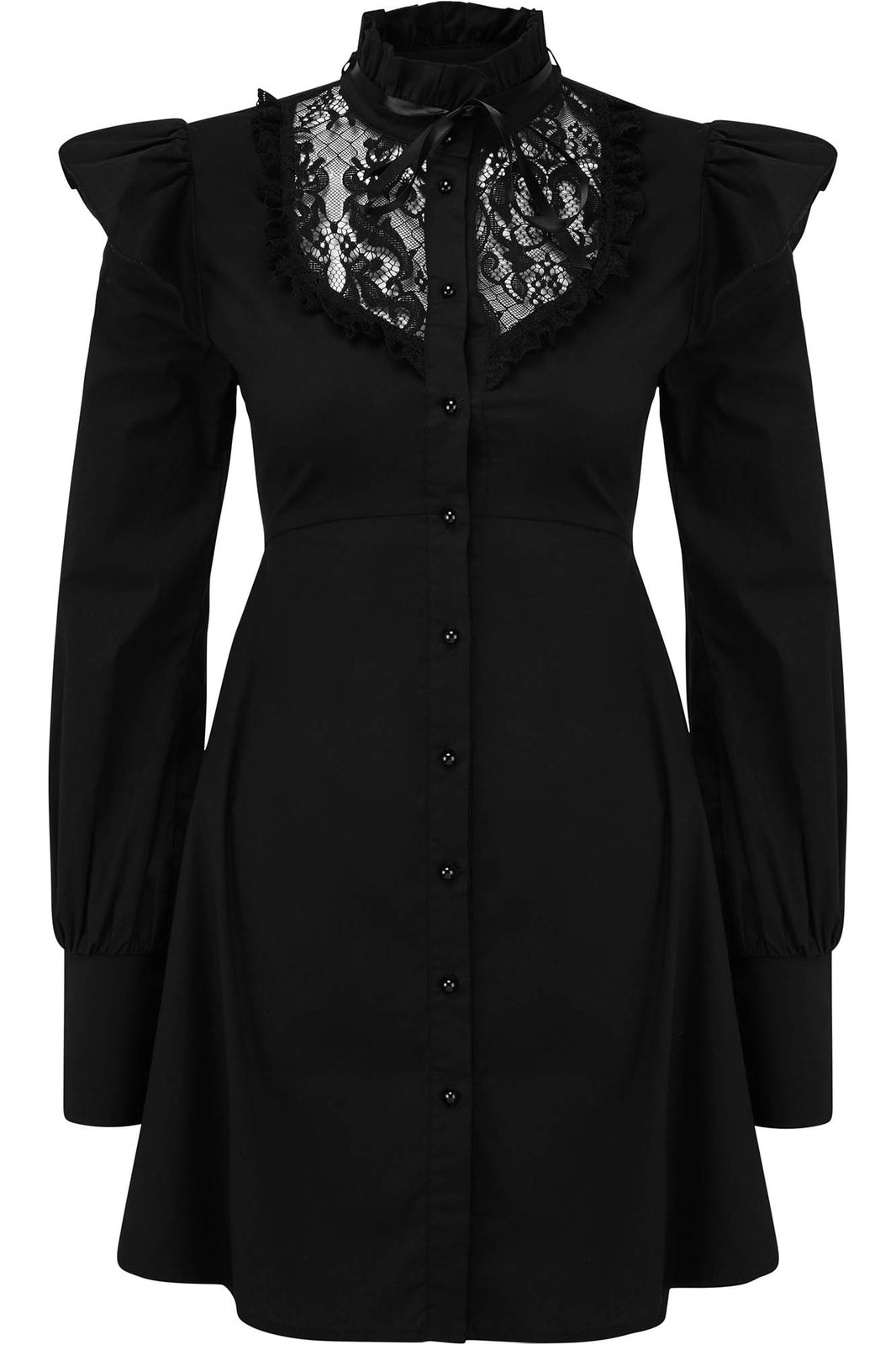 Wake The Dead Shirt Dress