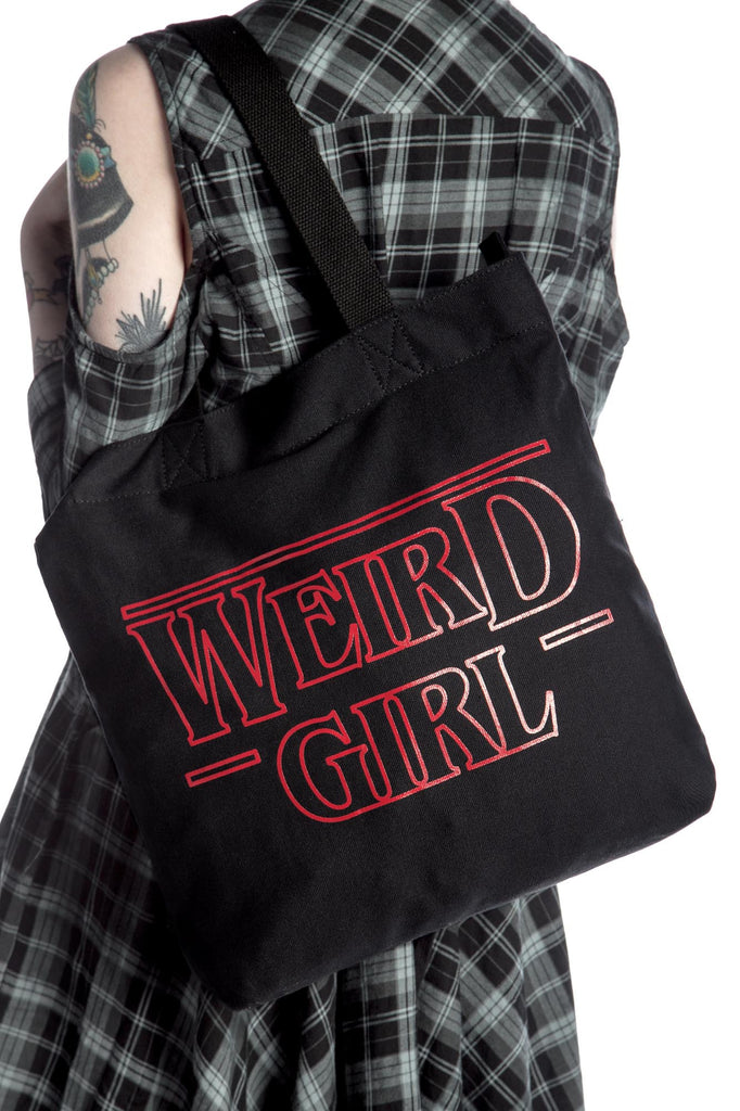 Weird Girl Shopper Tote [B]