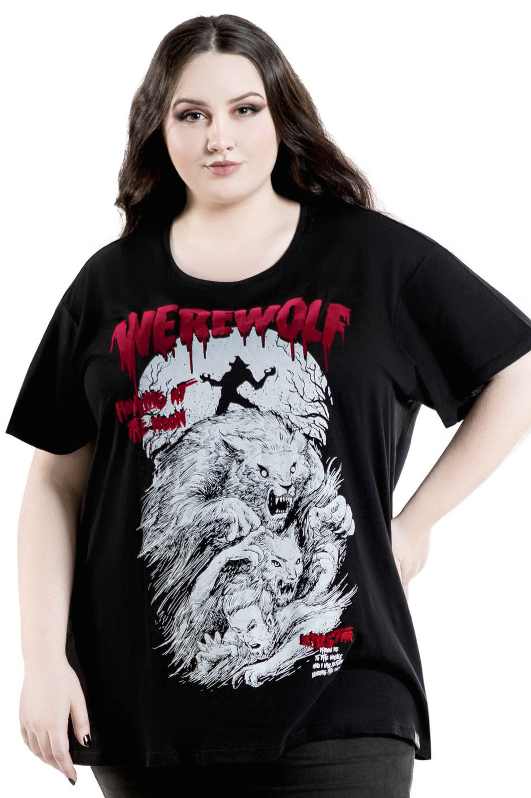 Werewolf Relaxed Top [PLUS]