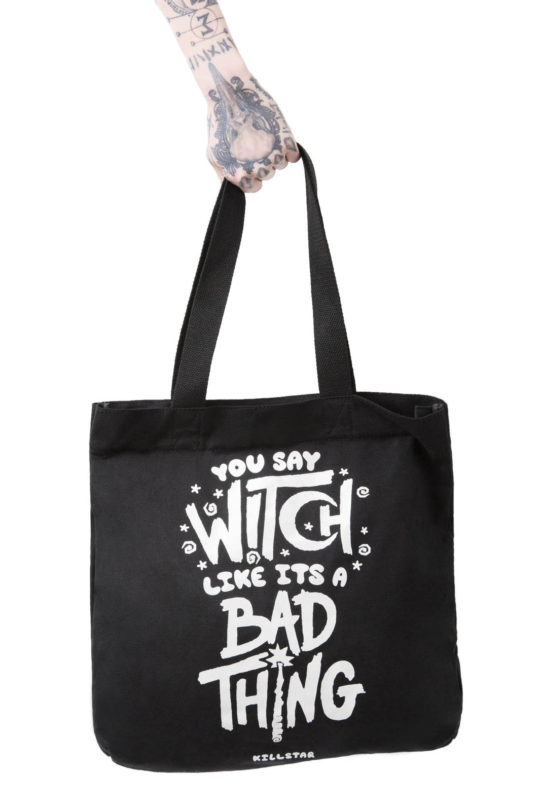 Who's Bad Tote Bag [B]