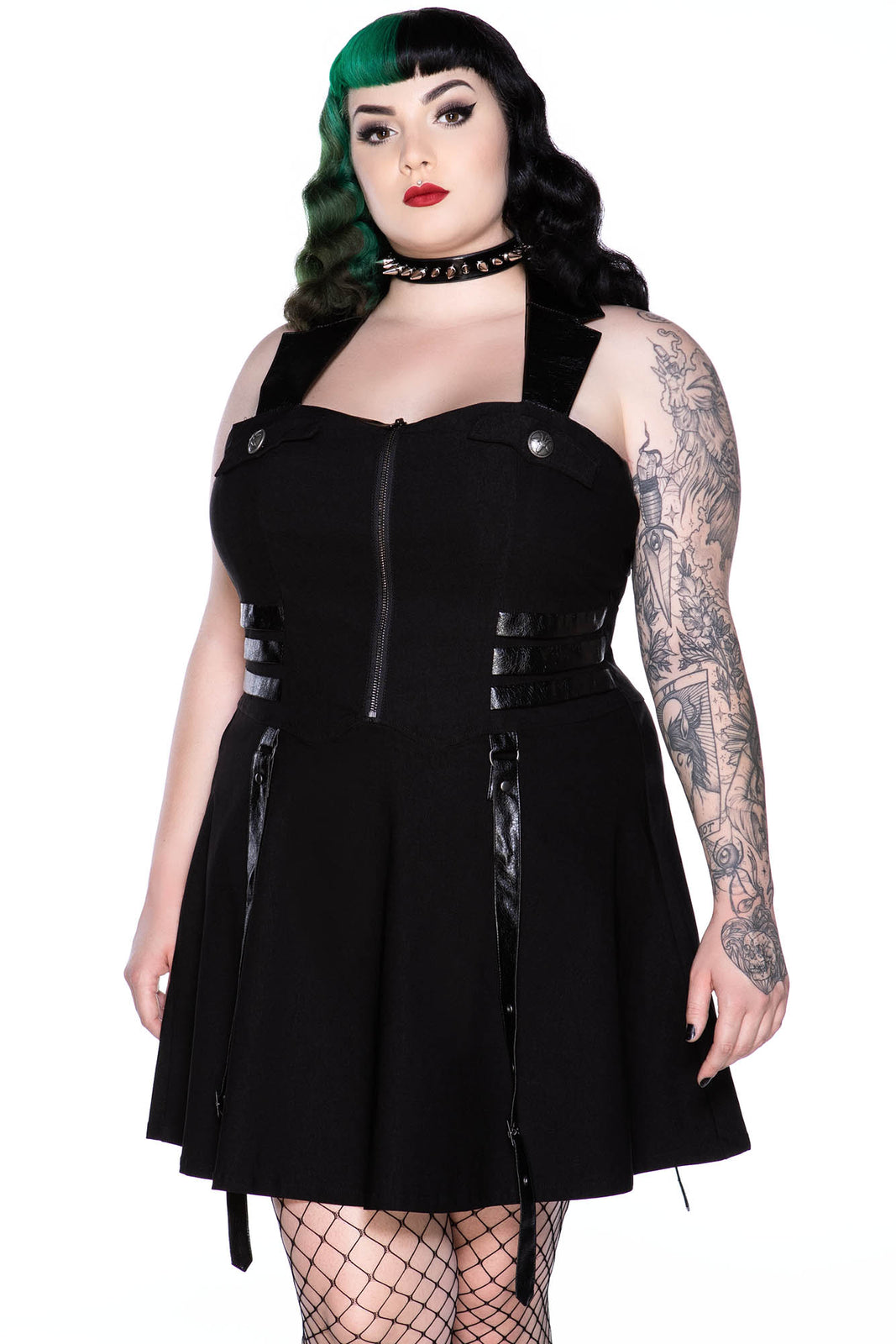 Psy-Ops Halter Dress [B] [PLUS]