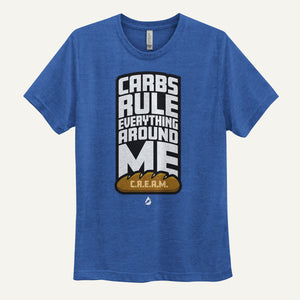 Carbs Rule Everything Around Me Men's T-Shirt