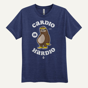 Cardio Is Hardio Men's T-Shirt