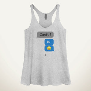 Cardio LOL Women's Tank Top