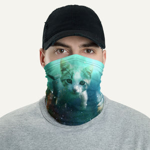 Cats In Space Neck Gaiter
