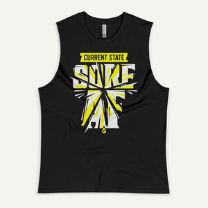Current State: Sore AF Men's Muscle Tank