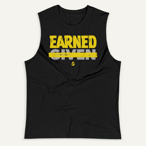 Earned Not Given Men's Muscle Tank