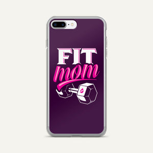 Fit Mom iPhone Case