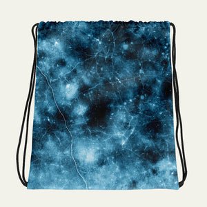 Frozen Ice Drawstring Bag