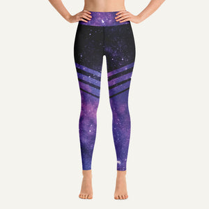Galaxy Women's High-Waisted Leggings