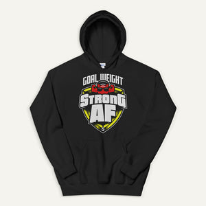Goal Weight: Strong AF Pullover Hoodie