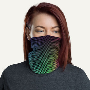 Gradient Dots Neck Gaiter